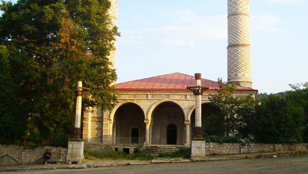 Şuşadakı Yuxarı Gövhərağa məscidi, arxiv şəkli - Sputnik Azərbaycan