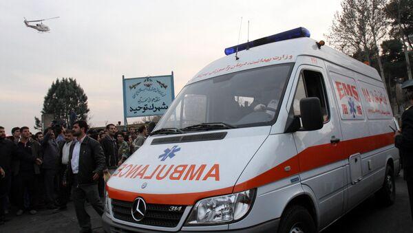 Карета скорой помощи в Иране, фото из архива - Sputnik Азербайджан
