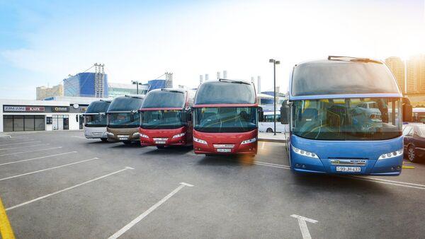 Автобусы, фото из архива - Sputnik Азербайджан