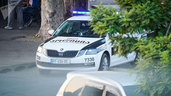 Патрульная полиция в Грузии, фото из архива - Sputnik Азербайджан