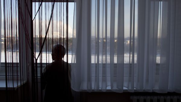 Подопечная дома престарелых, фото из архива - Sputnik Азербайджан