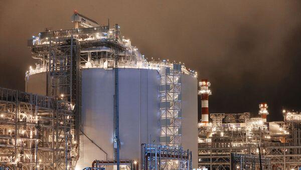 Завод по производству сжиженного природного газа - Sputnik Азербайджан