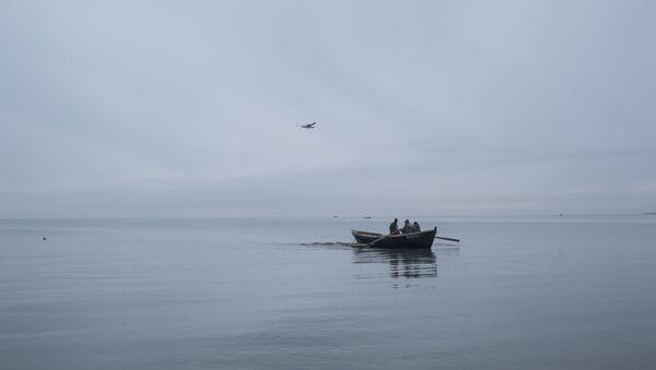 Рыбаки, фото из архива - Sputnik Азербайджан
