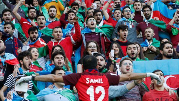 Матч отборочного раунда чемпионата Европы 2020 года между сборными Азербайджана и Венгрии - Sputnik Азербайджан