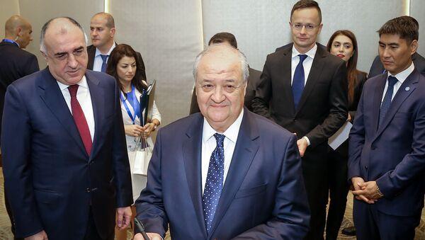 Özbəkistanın Xarici İşlər naziri Abdulaziz Kamilov - Sputnik Azərbaycan