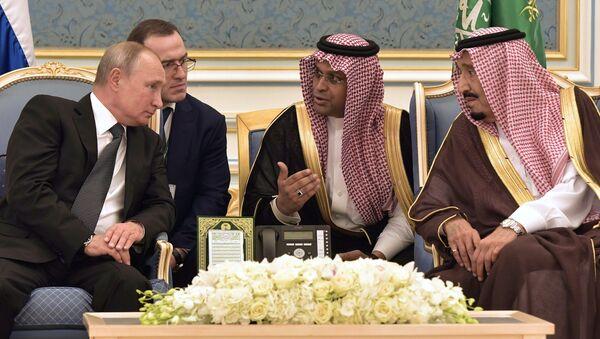 Государственный визит президента РФ В. Путина в Саудовскую Аравию - Sputnik Азербайджан