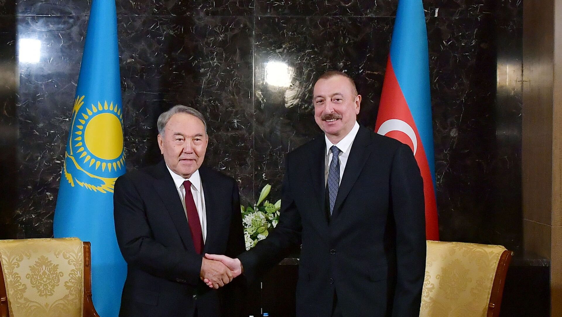 İlham Əliyev və Nursultan Nazarbayev - Sputnik Azərbaycan, 1920, 06.07.2021