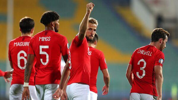 Футболисты сборной Англии - Sputnik Azərbaycan