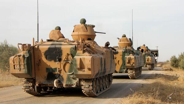 Турецкие солдаты в Сирии - Sputnik Азербайджан