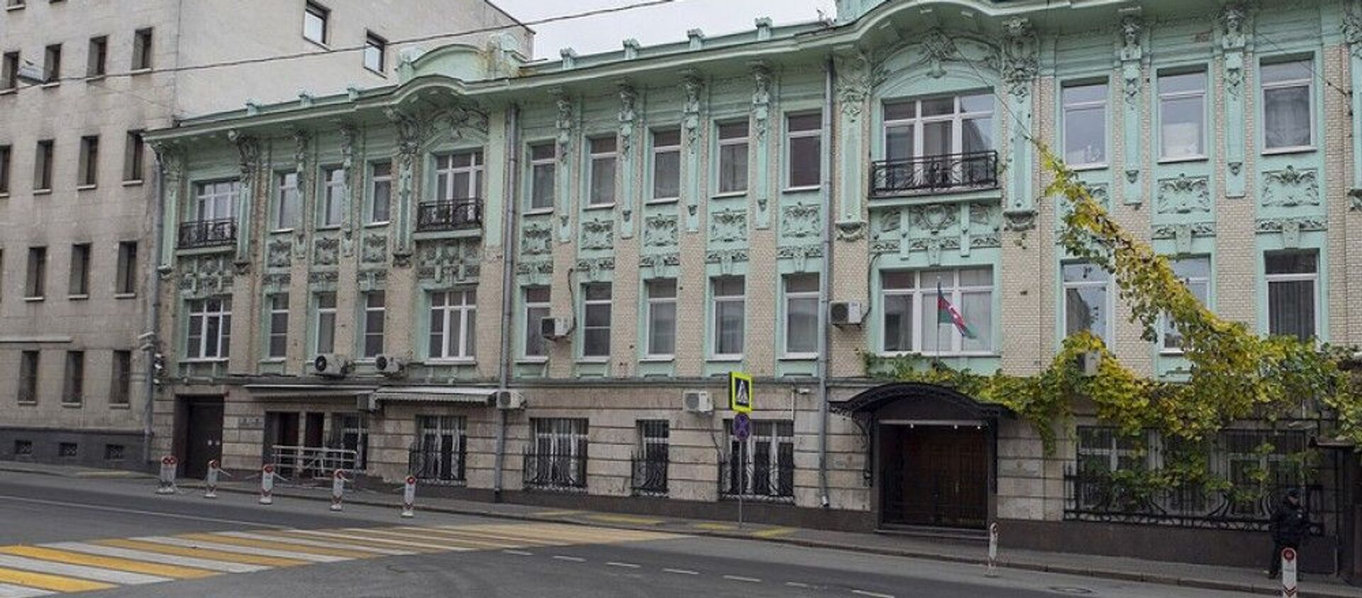 Здание посольства Азербайджана в Москве, фото из архива - Sputnik Азербайджан, 1920, 12.01.2021