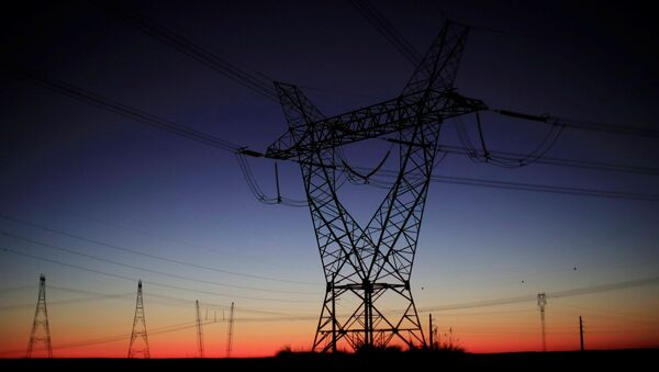 Высоковольтные провода - Sputnik Азербайджан