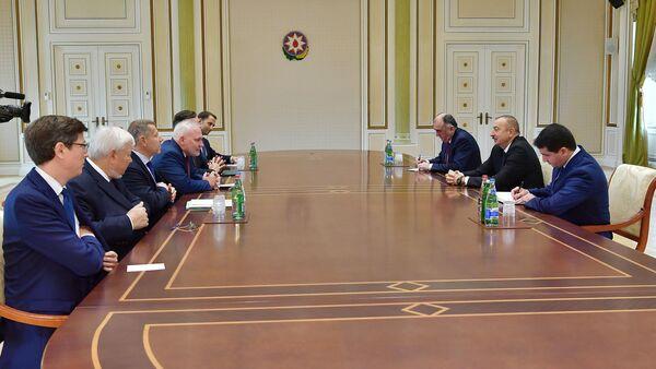 Prezident İlham Əliyev ATƏT-in Minsk qrupunun həmsədrlərini qəbul edib - Sputnik Азербайджан