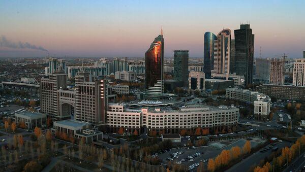 Город Нур-Султан, фото из архива - Sputnik Азербайджан