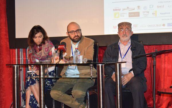 Состоялась пресс-конференция второго Международного фестиваля анимационных фильмов ANIMAFILM  - Sputnik Азербайджан
