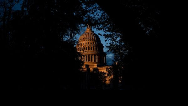 Вид на Капитолий США, фото из архива - Sputnik Azərbaycan