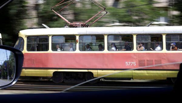Трамвай, фото из архива - Sputnik Азербайджан