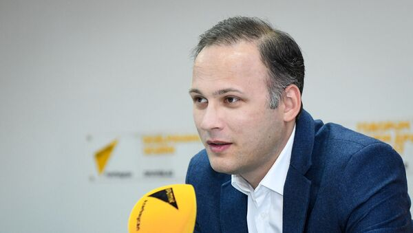 Руководитель проекта The Greater Middle East Али Гаджизаде - Sputnik Азербайджан