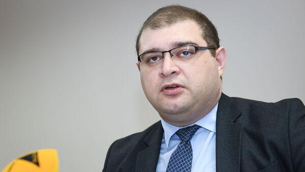 Директор Кавказского центра политического анализа Ахмед Алили - Sputnik Азербайджан