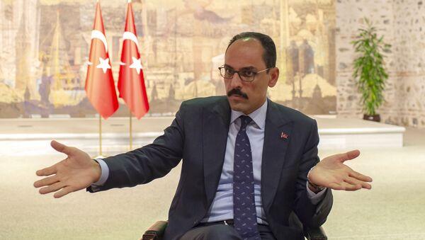 Пресс-секретарь президента Турции Ибрагим Калын, фото из архива - Sputnik Azərbaycan