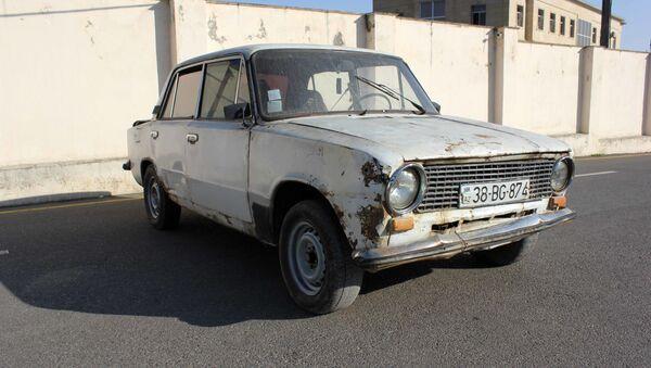 """Oğurlanan  """"VAZ-21011"""" markalı avtomobili - Sputnik Азербайджан"""