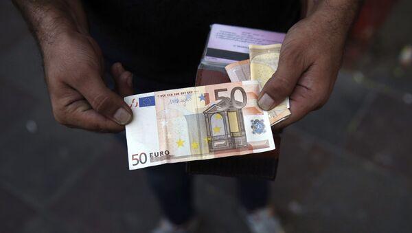 Евро, фото из архива - Sputnik Азербайджан