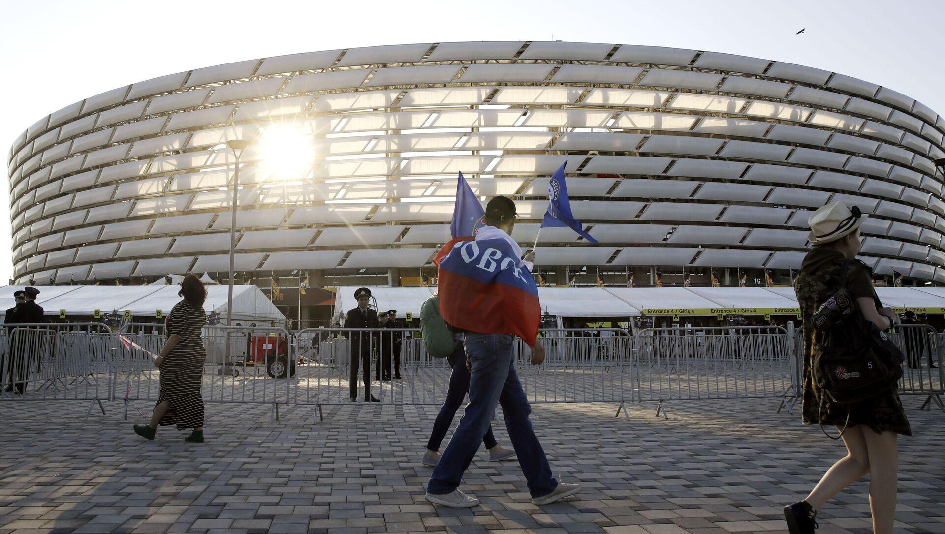 Бакинский олимпийский стадион, фото из архива - Sputnik Азербайджан, 1920, 06.04.2021