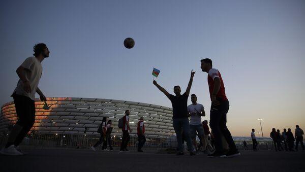Бакинский олимпийский стадион, фото из архива - Sputnik Азербайджан