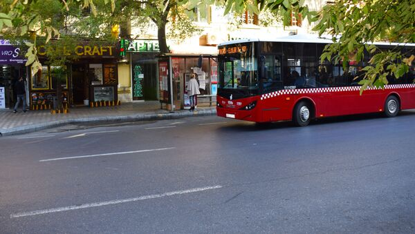 Автобусы в Баку, фото из архива - Sputnik Азербайджан