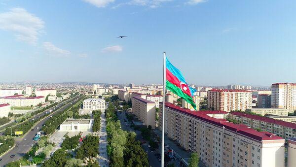 Вид на Сумгайыт - Sputnik Азербайджан