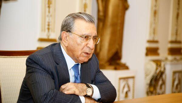 Prezident Administrasiyasının sabiq rəhbəri Ramiz Mehdiyev - Sputnik Азербайджан
