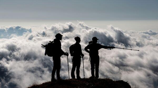 Альпинисты, фото из архива - Sputnik Азербайджан