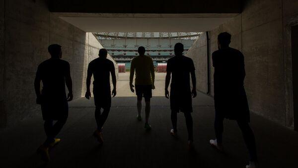 Футболисты, фото из архива - Sputnik Азербайджан