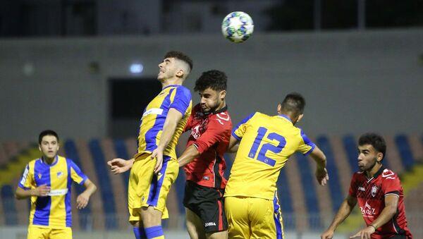 Матч между юношескими (U19) футбольными командами АПОЭЛ (Кипр) и Габала (Азербайджан) - Sputnik Азербайджан