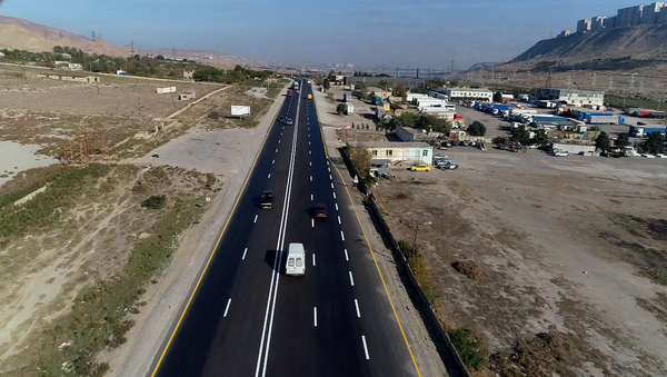 Автомобильная дорога Ходжасан-Локбатан - Sputnik Азербайджан