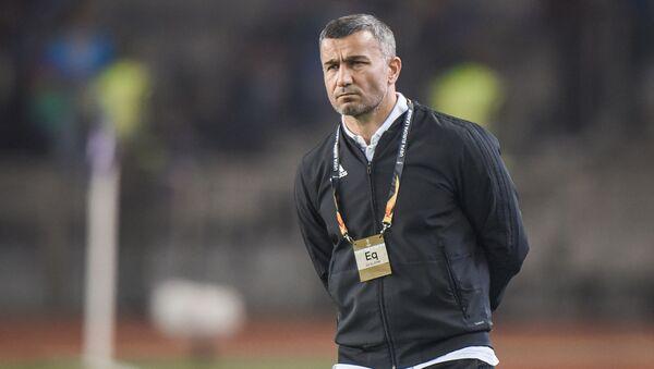 Матч третьего тура группы A Лиги Европы по футболу между азербайджанским Карабахом и кипрским АПОЭЛ - Sputnik Азербайджан
