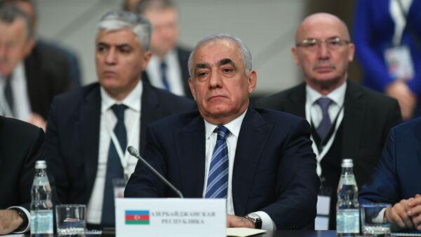 Заседание Совета глав правительств СНГ - Sputnik Азербайджан