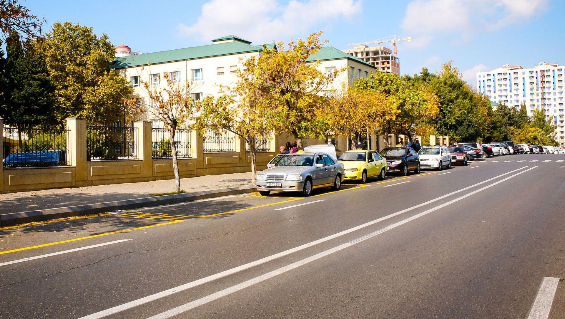 Остановки для такси - Sputnik Азербайджан, 1920, 25.08.2021