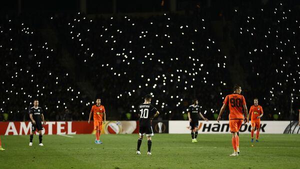 Полузащитник азербайджанского футбольного клуба Карабах Дани Кинтана  - Sputnik Азербайджан