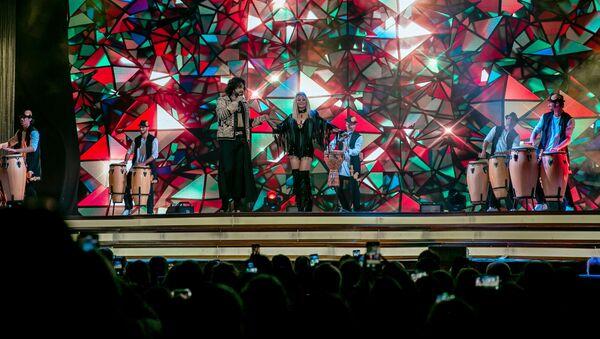 В Бакинском конгресс центре прошел концерт народного артиста России Филиппа Киркорова - Sputnik Азербайджан