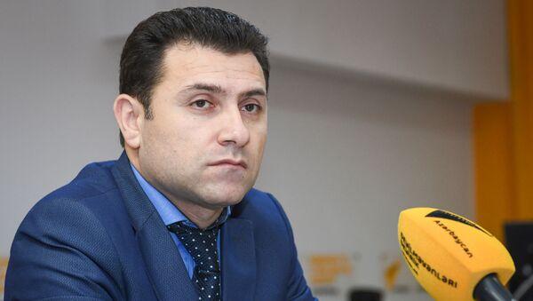 Председатель Союза риэлторов Азербайджана Эльнур Азадов - Sputnik Азербайджан