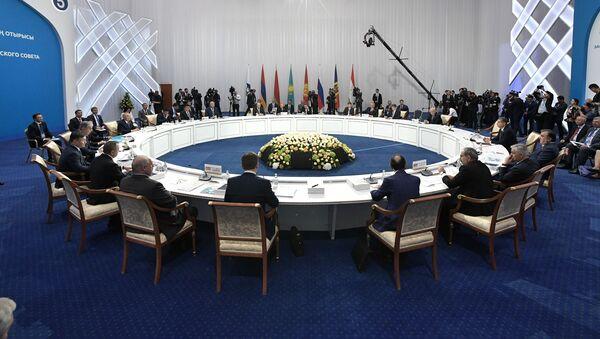 Заседание Высшего Евразийского экономического совета - Sputnik Азербайджан