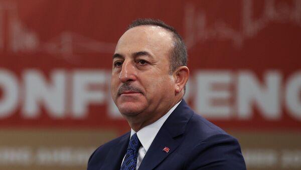 Türkiyənin Xarici İşlər naziri Mövlud Çavuşoğlu - Sputnik Azərbaycan