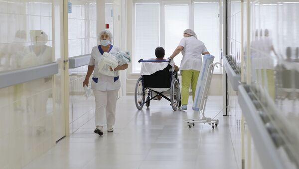 Медицинские сестры больнице, фото из архива - Sputnik Азербайджан