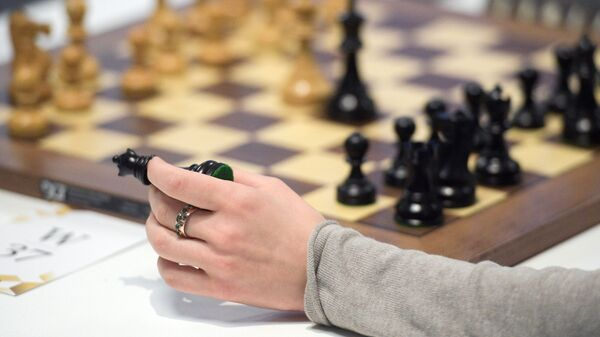 Шахматист, фото из архива - Sputnik Азербайджан