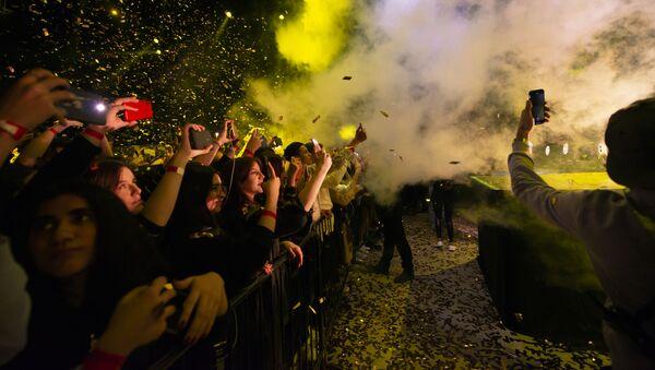 Известный российский хип-хоп исполнитель Matrang выступил с концертом в Баку  - Sputnik Азербайджан