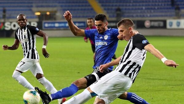 Матч 10 тура Премьер Лиги Азербайджана Карабах- Нефтчи - Sputnik Азербайджан