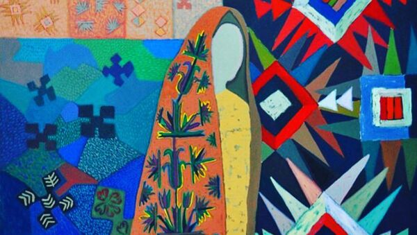 В Баку в галерее Art Tower открывается выставка туркмена Мамеда Ярмаммедова под названием Влюбленный в Родину - Sputnik Азербайджан