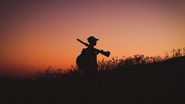 Охотник, фото из архива - Sputnik Azərbaycan
