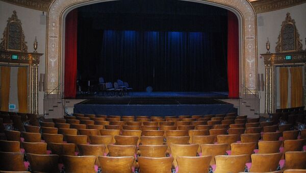 Сцена театра, фото из архива - Sputnik Азербайджан