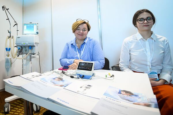 Азербайджанская международная выставка медицинских инноваций и индустрии красоты - Sputnik Азербайджан